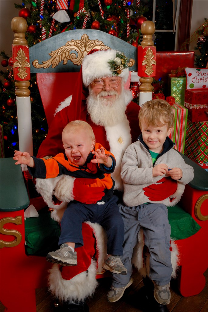 In this case, Santa was the one killing the fun. (Photo by Jeff White Photography)